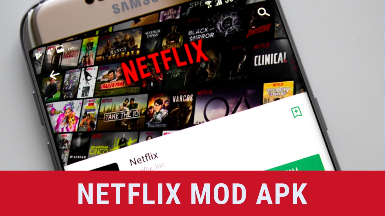 Netflix Mod Apk Download [Premium 100% Working Latest Version]