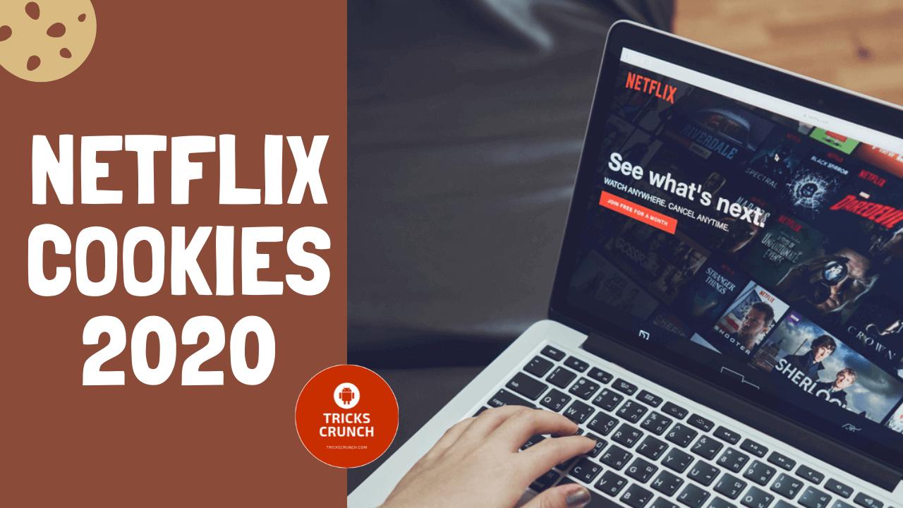 Netflix Cookies 2020